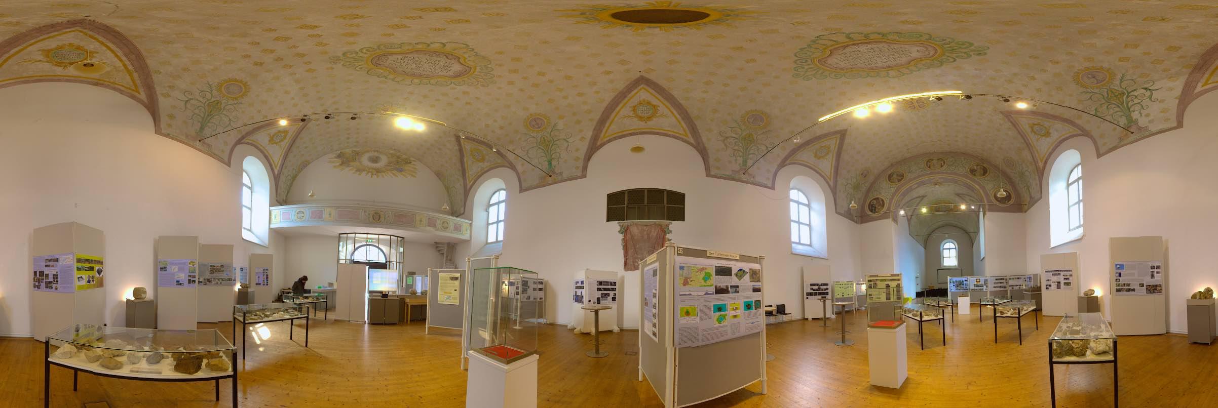 Kunstraum Klosterkirche Traunstein Chiemgau-Komet