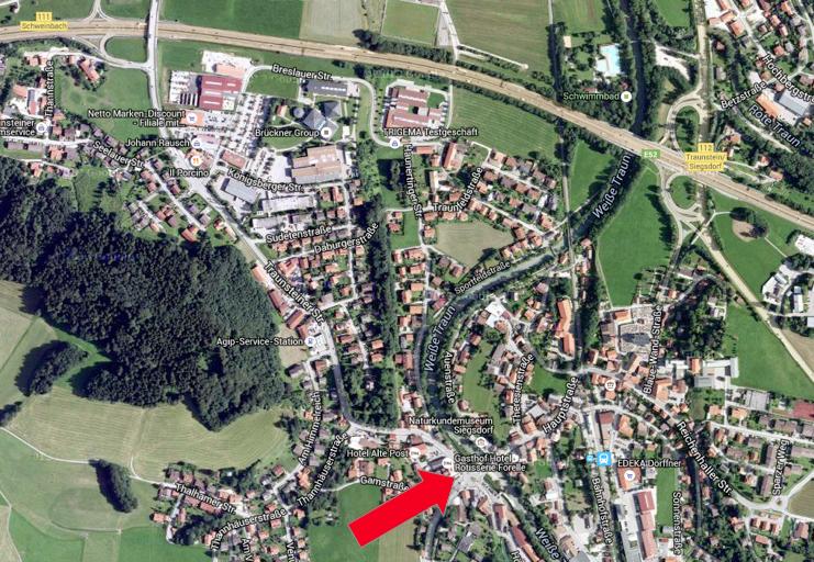 Gasthof Forelle Siegsdorf Anfahrt