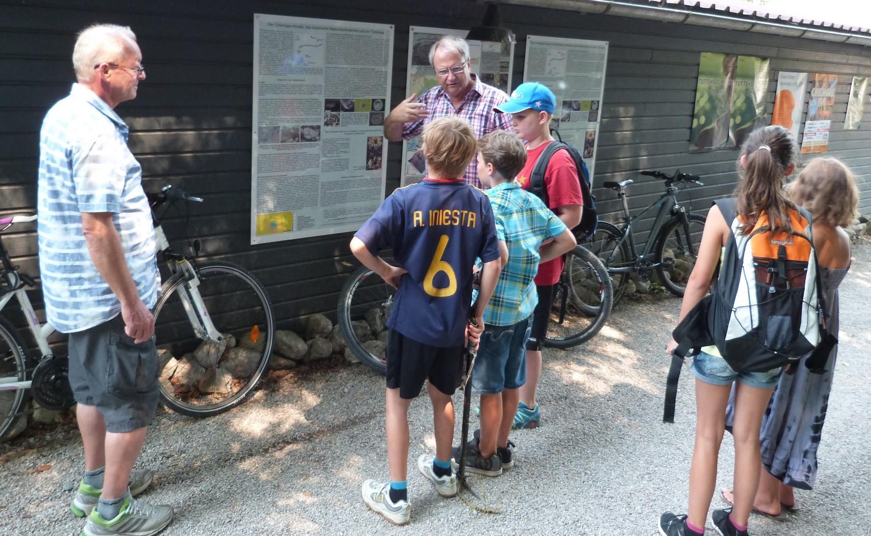 Kinderferienprogramm Chiemgau-Impakt Tüttensee-Meteoritenkrater