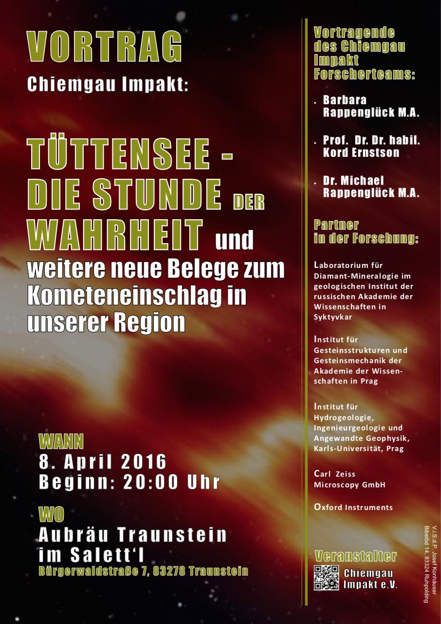 Poster Jahresvortrag Chiemgau Impakt