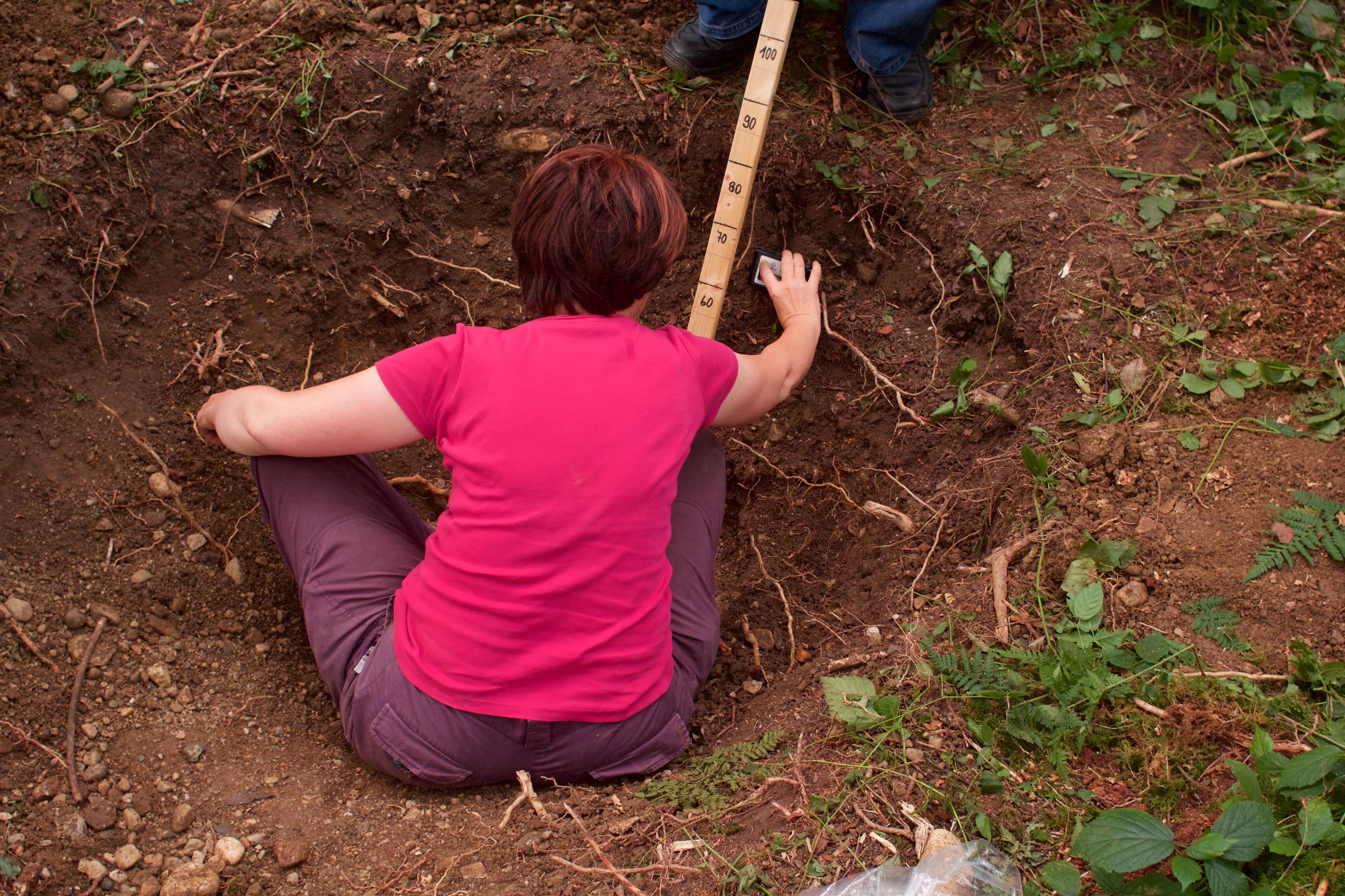 Suszeptibilität Messung Krater Chiemgau Impakt