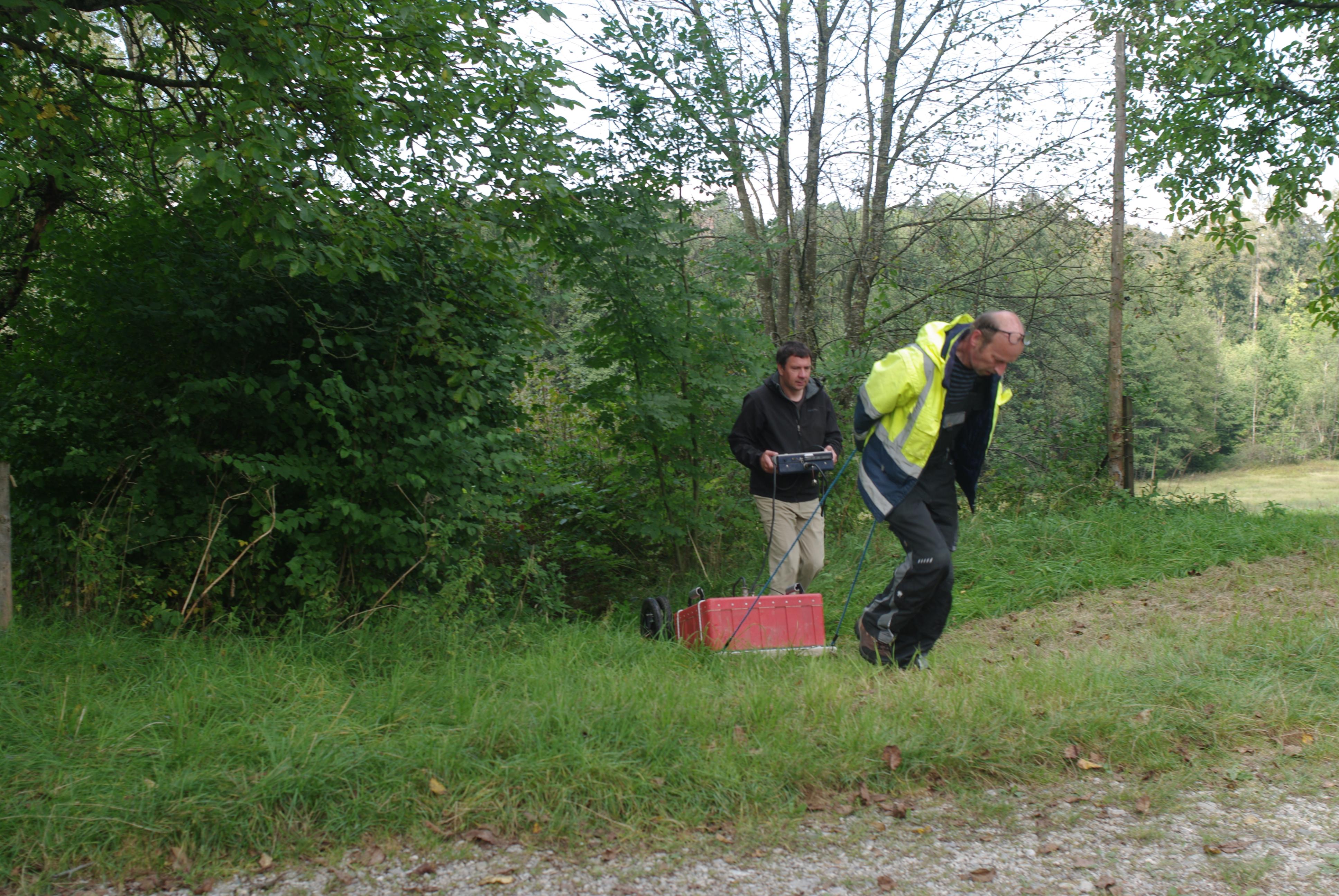 Bodenradar Chiemgau-Impakt 4