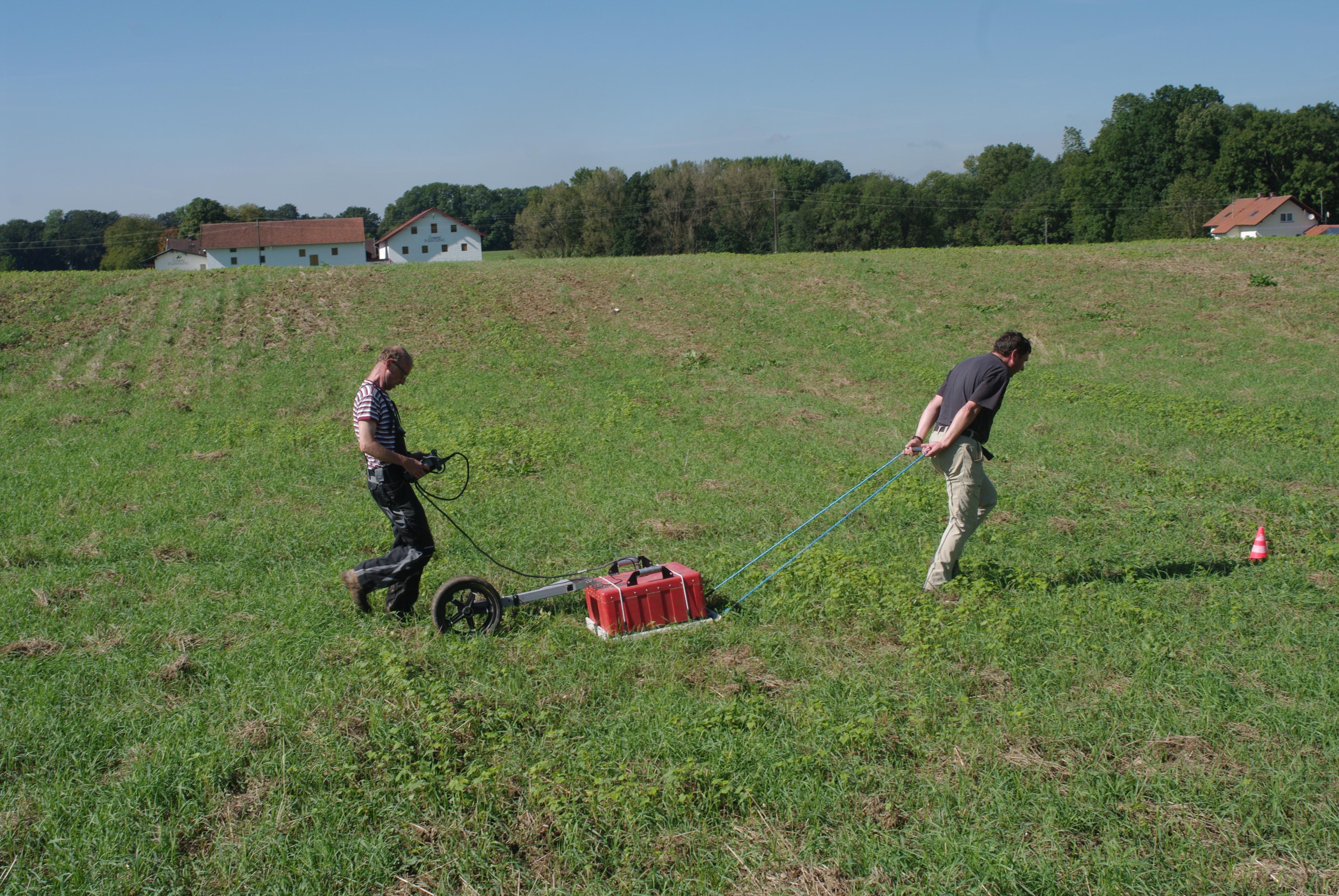 Bodenradar Chiemgau Impakt Purkering