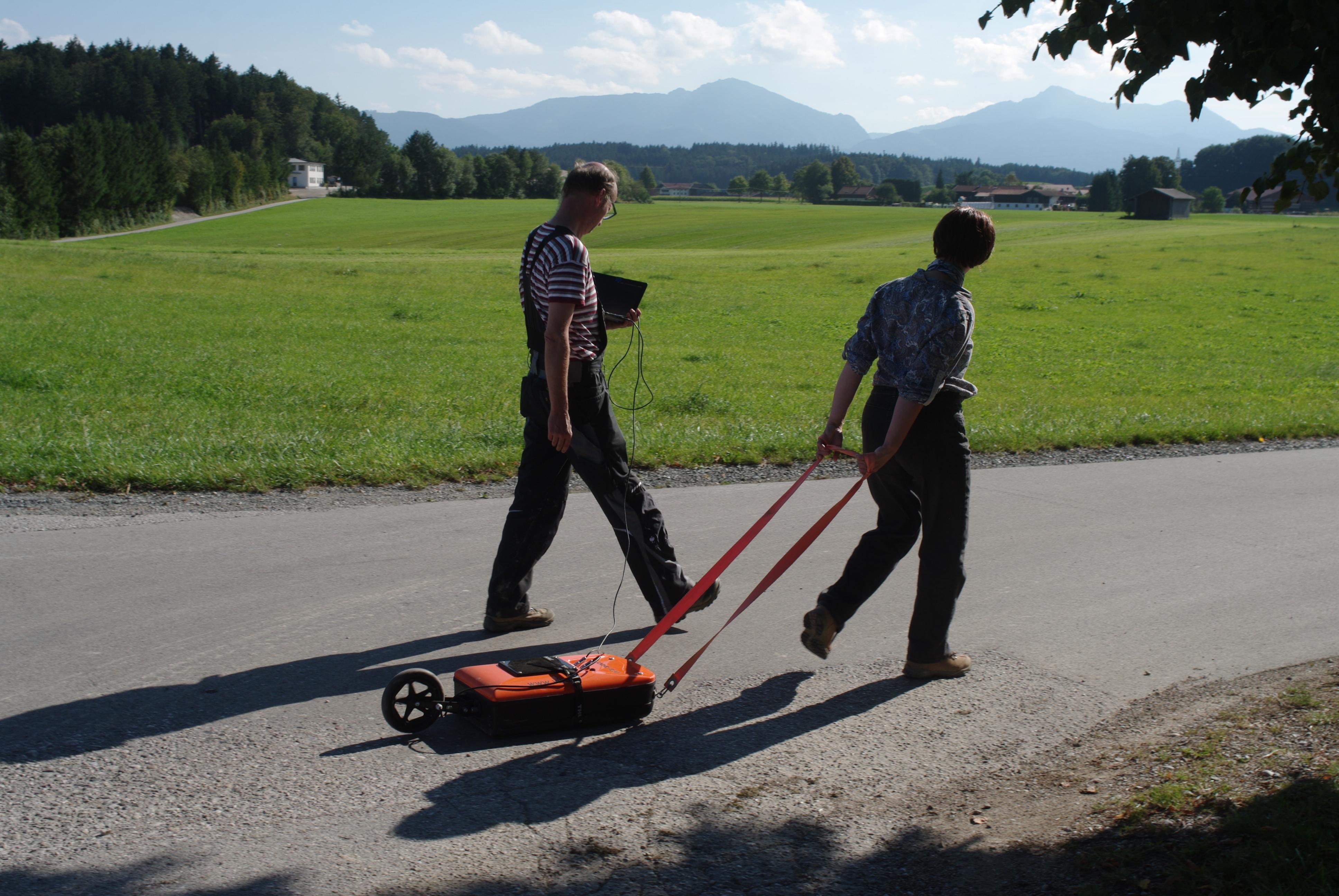 Chiemgau-Impakt Bodenradar 2