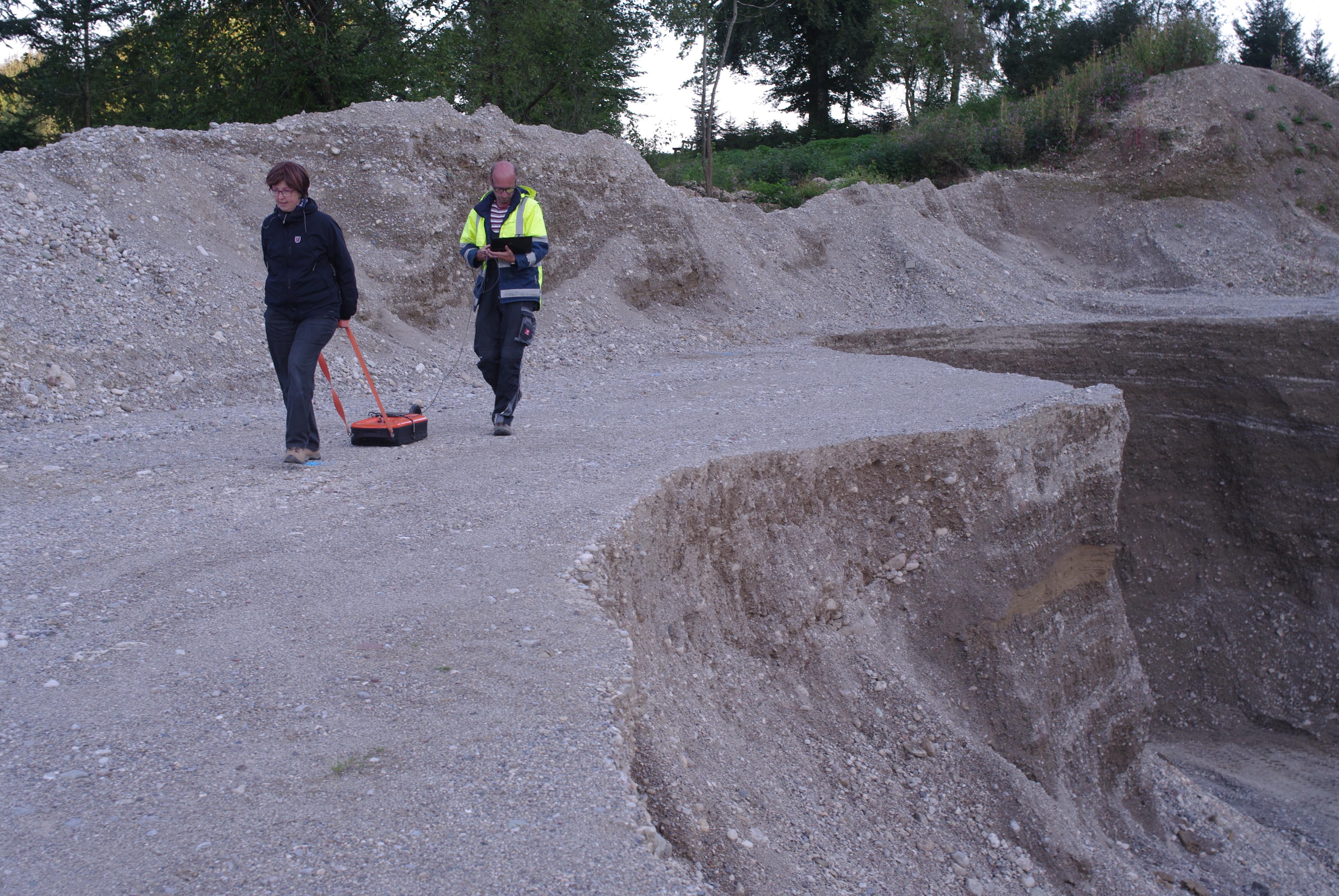 Chiemgau-Impakt Bodenradar 1