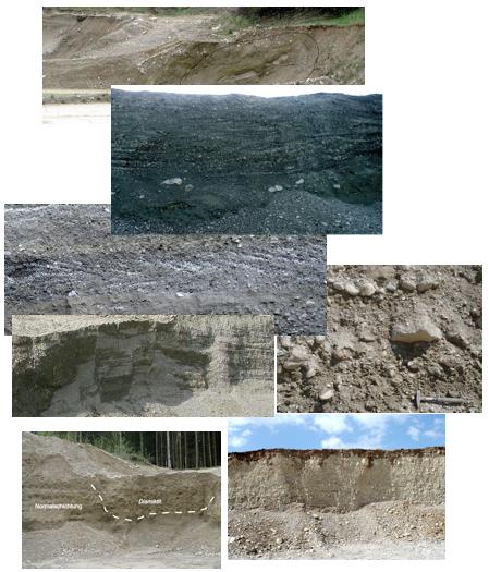 Tsunami Ablagerungen Chiemsee Chiemgau Impakt