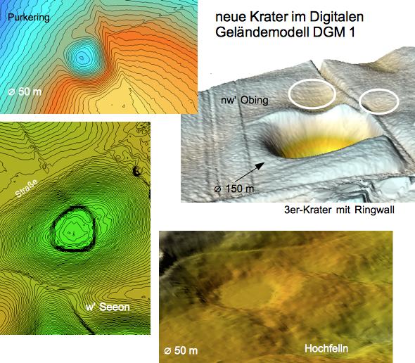 Chiemgau Impakt neue Krater