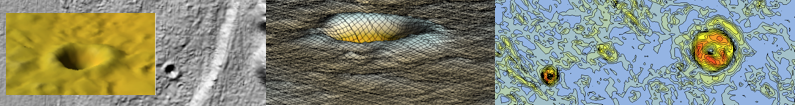 Chiemgau Impakt Digitales Geländemodell Krater
