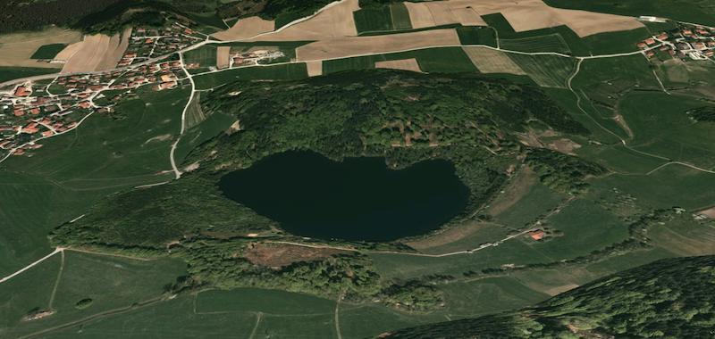 Tüttensee-Meteoritenkrater Chiemgau-Impakt