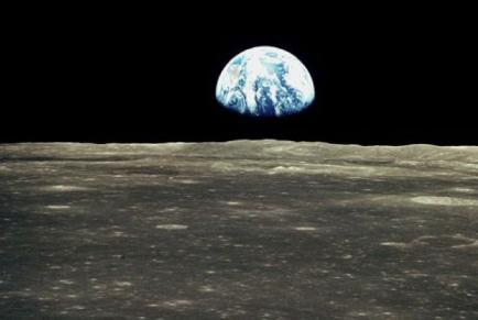 vom Mond zur Erde