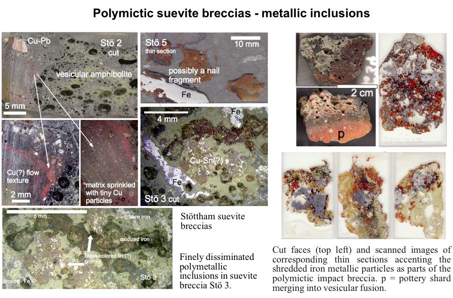 Artefakte in stark geschockten Impakt-Brekzien (Suevit)